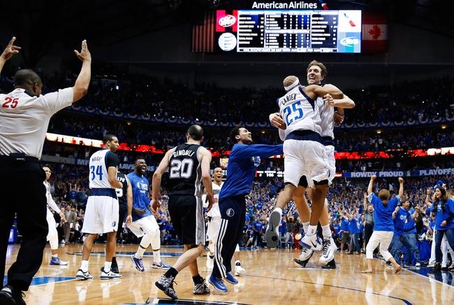San Antonio Spurs at Dallas Mavericks NBA Pick, Odds, Prediction - 4/28/14 Game Four