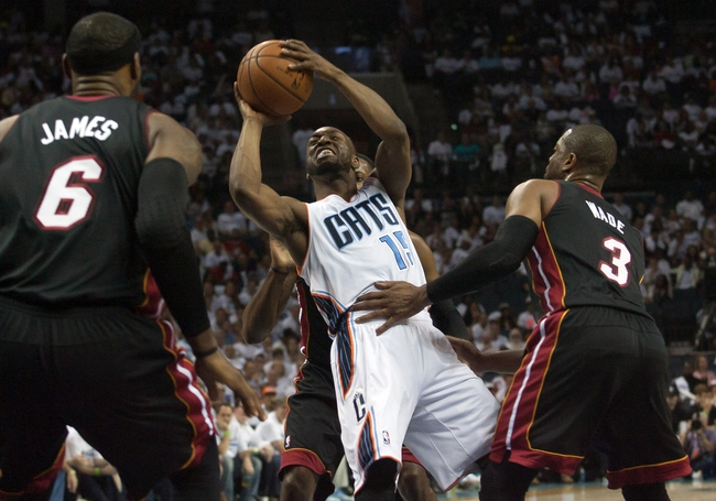 Charlotte Bobcats vs. Miami Heat - 4/28/14
