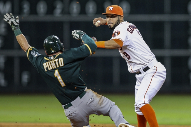 Houston Astros vs. Oakland Athletics MLB Pick, Odds, Prediction - 4/27/14