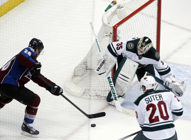 Minnesota Wild vs. Colorado Avalanche - 4/28/14