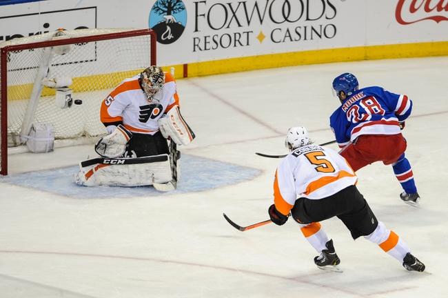 Philadelphia Flyers vs. New York Rangers - 4/29/14
