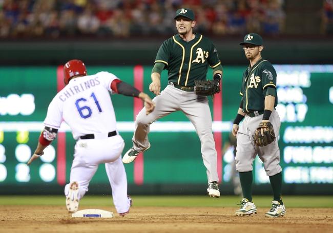 Texas Rangers vs. Oakland Athletics MLB Pick, Odds, Prediction 4/29/14