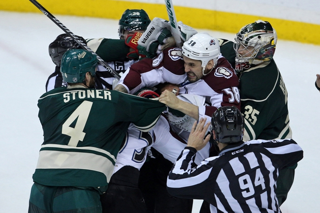 Colorado Avalanche vs. Minnesota Wild - 4/30/14
