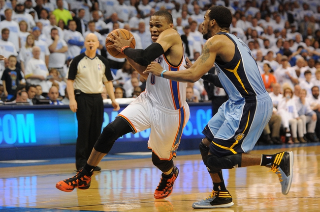 Oklahoma City Thunder at Memphis Grizzlies NBA Pick, Odds, Prediction - 5/1/14 Game Six