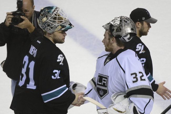 Los Angeles Kings vs. San Jose Sharks - 10/8/14
