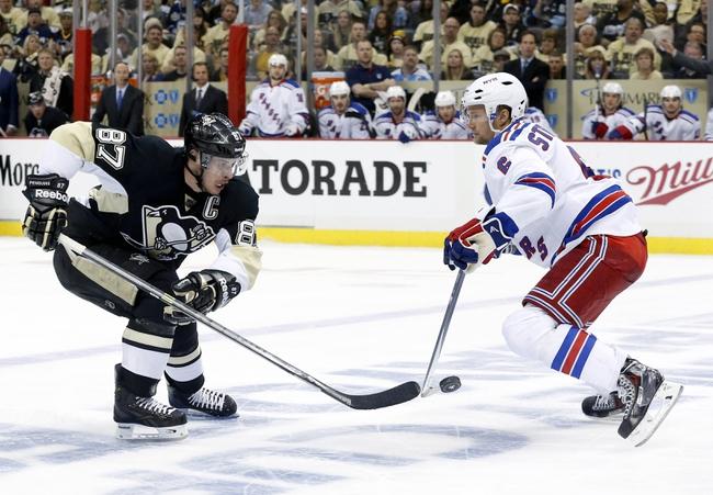 New York Rangers at Pittsburgh Penguins Pick-Odds-Prediction - 5/4/14