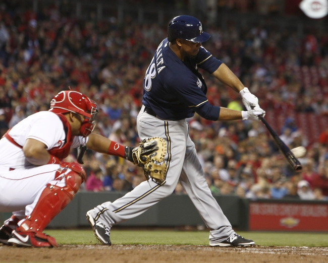 Cincinnati Reds vs. Milwaukee Brewers Pick-Odds-Prediction - 5/3/14