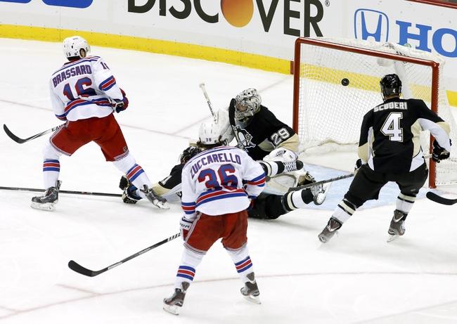 Pittsburgh Penguins vs. New York Rangers - 5/4/14