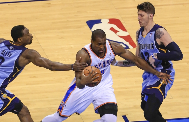Grizzlies vs. Thunder- 10/14/14 NBA Preseason Pick, Odds, Prediction