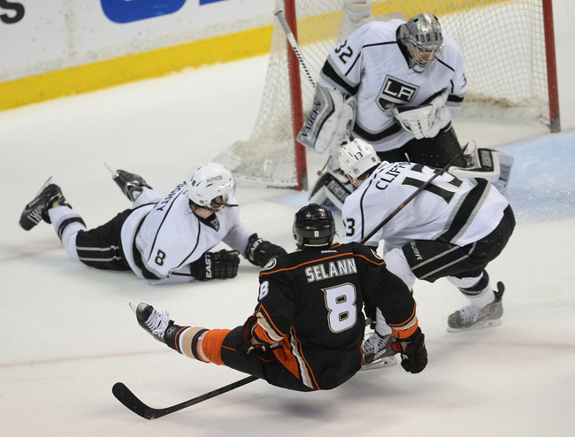 Los Angeles Kings at Anaheim Ducks Pick-Odds-Prediction - 5/5/14