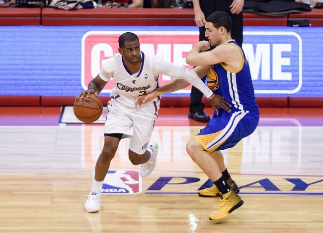 Warriors vs. Clippers - 10/7/14 NBA Preseason Pick, Odds, Prediction