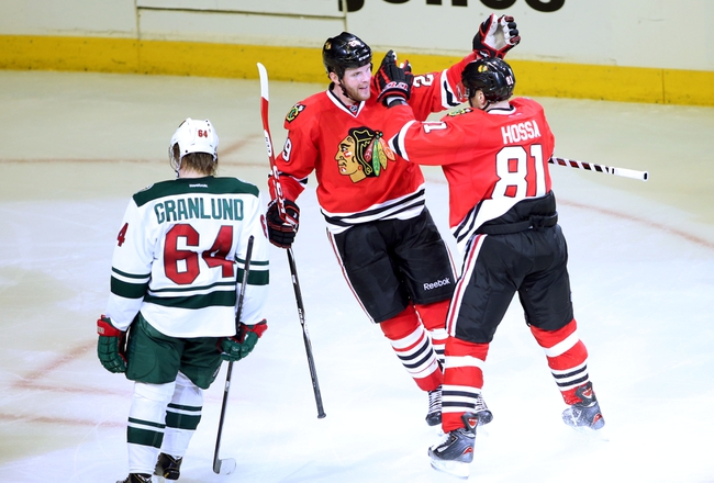 Chicago Blackhawks at Minnesota Wild Pick-Odds-Prediction - 5/6/14