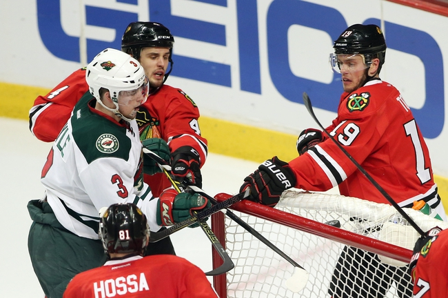 Minnesota Wild vs. Chicago Blackhawks - 5/6/14