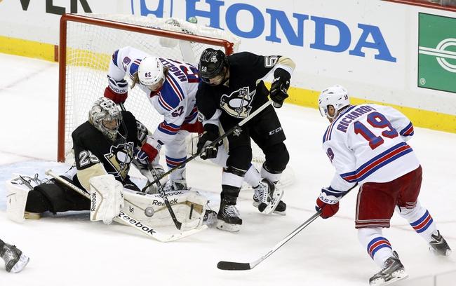 New York Rangers vs. Pittsburgh Penguins - 5/5/14