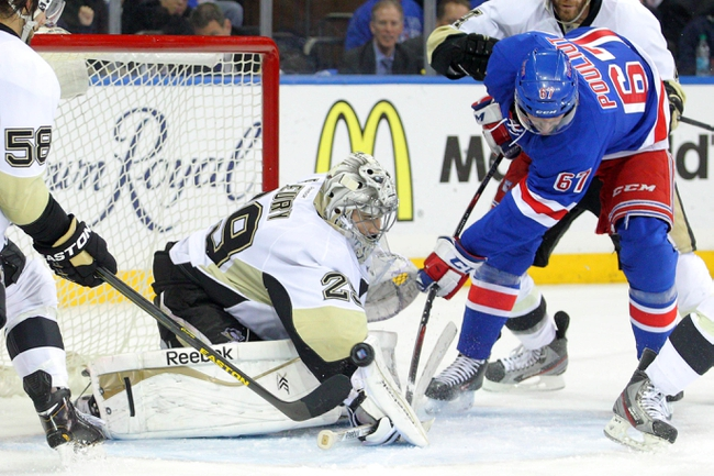 Pittsburgh Penguins at New York Rangers - 5/7/14