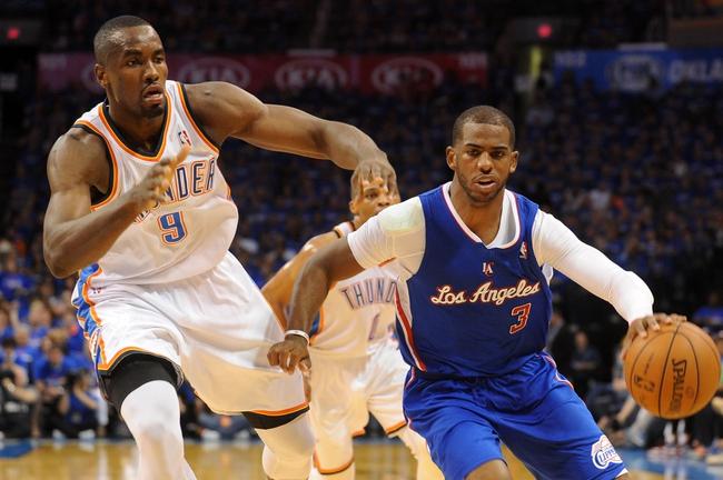 Oklahoma City Thunder vs. Los Angeles Clippers - 5/7/14