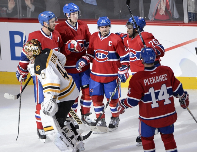 Montreal Canadiens vs. Boston Bruins - 5/8/14