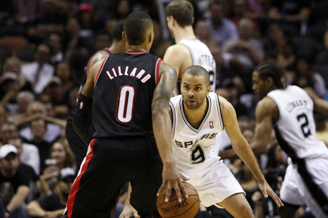 Portland Trail Blazers at San Antonio Spurs NBA Pick, Odds, Prediction - 5/8/14 Game Two