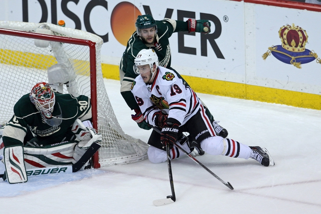 Minnesota Wild vs. Chicago Blackhawks - 5/9/14