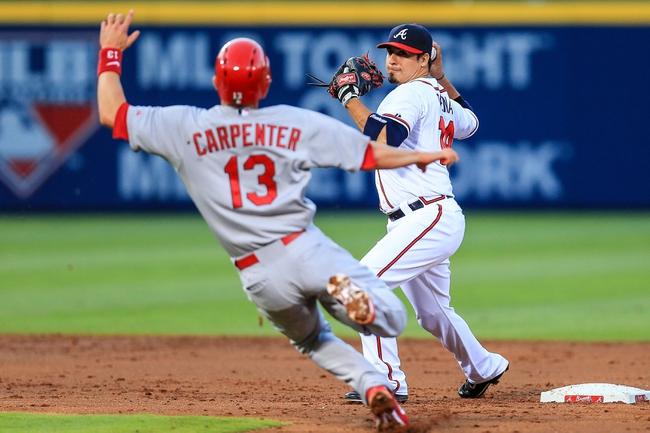 St. Louis Cardinals vs. Atlanta Braves MLB Pick, Odds, Prediction 5/17/14