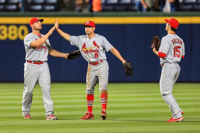 St. Louis Cardinals vs. Atlanta Braves Pick-Odds-Prediction - 5/18/14