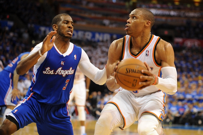 Oklahoma City Thunder at Los Angeles Clippers NBA Pick, Odds, Prediction - 5/9/14 Game Three