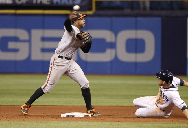 Tampa Bay Rays vs. Baltimore Orioles Pick-Odds-Prediction - 6/16/14