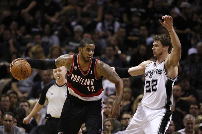 San Antonio Spurs at Portland Trail Blazers NBA Pick, Odds, Prediction - 5/10/14 Game Three