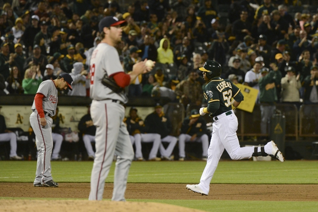 Oakland Athletics vs. Washington Nationals MLB Pick, Odds, Prediction - 5/10/14