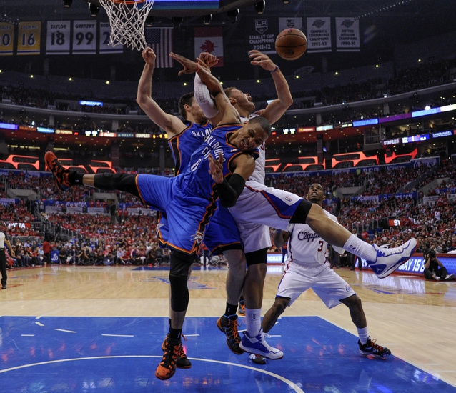 Oklahoma City Thunder at Los Angeles Clippers NBA Pick, Odds, Prediction - 5/11/14 Game Four