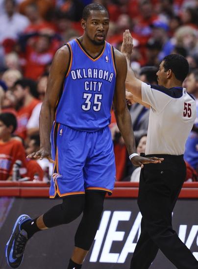 Los Angeles Clippers vs. Oklahoma City Thunder - 5/11/14