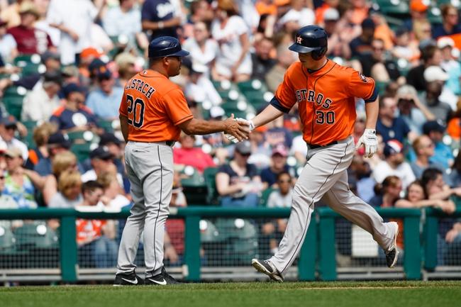 Houston Astros vs. Detroit Tigers MLB Pick, Odds, Prediction - 6/27/14