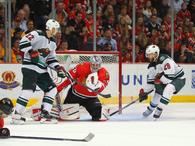Chicago Blackhawks at Minnesota Wild Pick-Odds-prediction - 5/13/14
