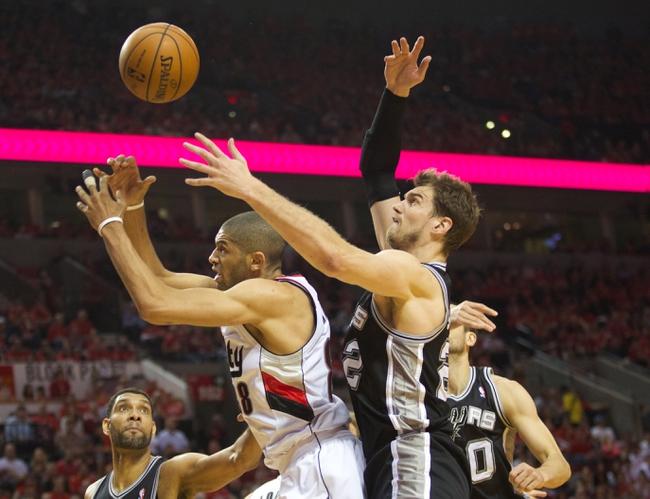 Portland Trail Blazers vs. San Antonio Spurs - 5/14/14