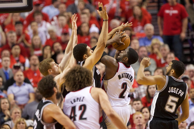 Portland Trail Blazers at San Antonio Spurs NBA Pick, Odds, Prediction - 5/14/14 Game Five