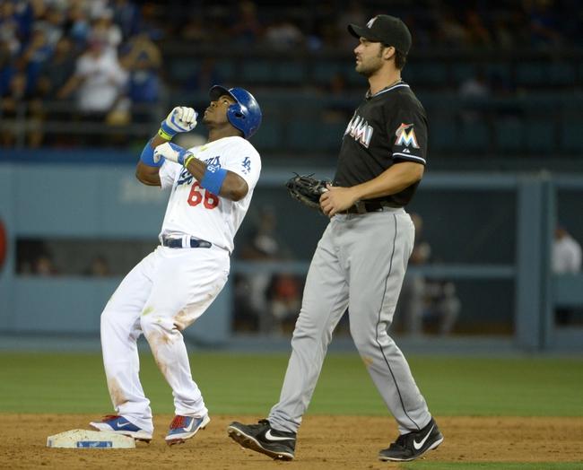 Los Angeles Dodgers vs. Miami Marlins Pick-Odds-Prediction - 5/14/14