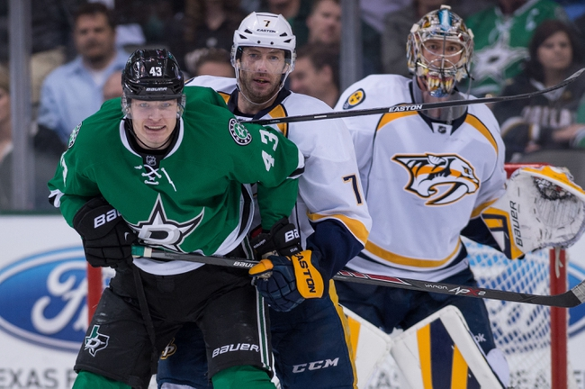 Predators vs. Stars - 1/8/15 NHL Pick, Odds, and Prediction