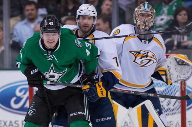 Predators vs. Stars - 1/8/15 NHL Pick, Odds, and Prediction