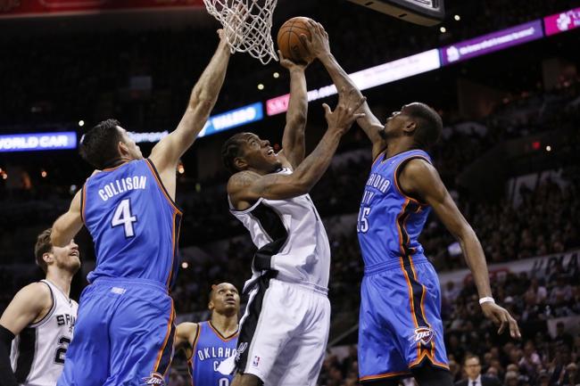 The San Antonio Spurs vs. the Oklahoma City Thunder - 5/21/14 Game 2