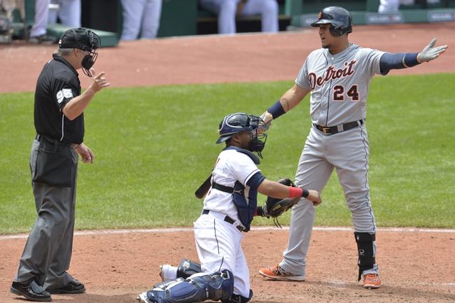 Cleveland Indians vs. Detroit Tigers Pick-Odds-Prediction - 6/22/14