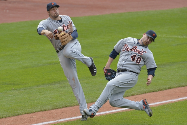 Cleveland Indians vs. Detroit Tigers Pick-Odds-Prediction - 6/21/14