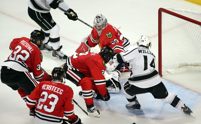 Chicago Blackhawks at Los Angeles Kings Pick-Odds-Prediction - 5/24/14
