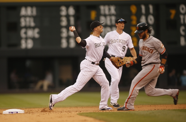 San Francisco Giants vs. Colorado Rockies Pick-Odds-Prediction - 6/13/14