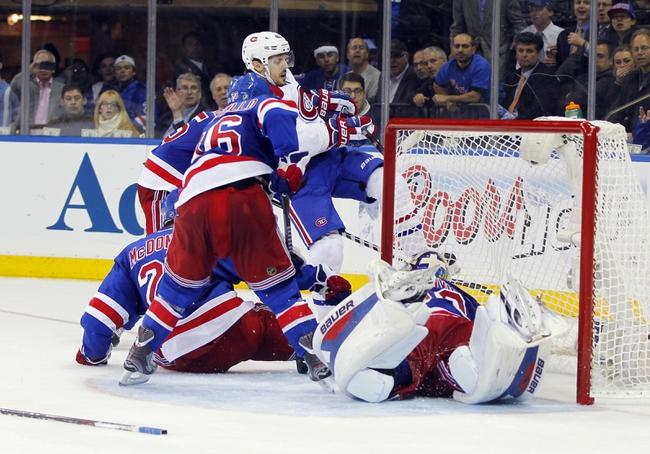 New York Rangers vs. Montreal Canadiens - 5/25/14