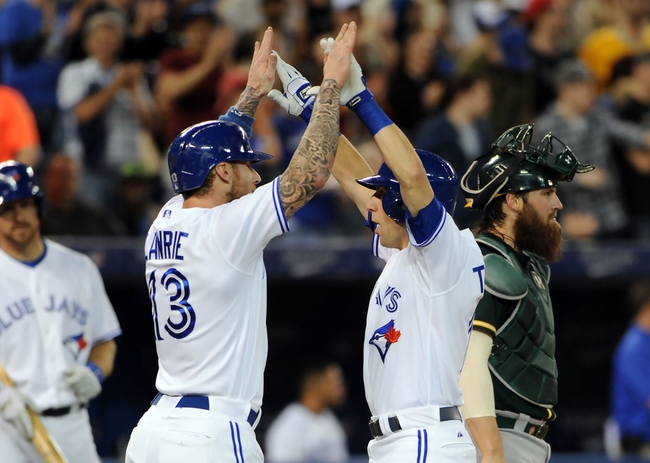 Toronto Blue Jays vs. Oakland Athletics MLB Pick, Odds, Prediction 5/24/14