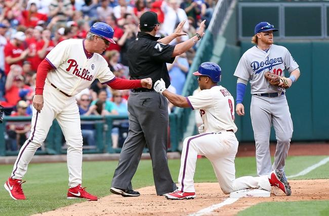 Philadelphia Phillies vs. Los Angeles Dodgers Pick-Odds-Prediction - 5/25/14