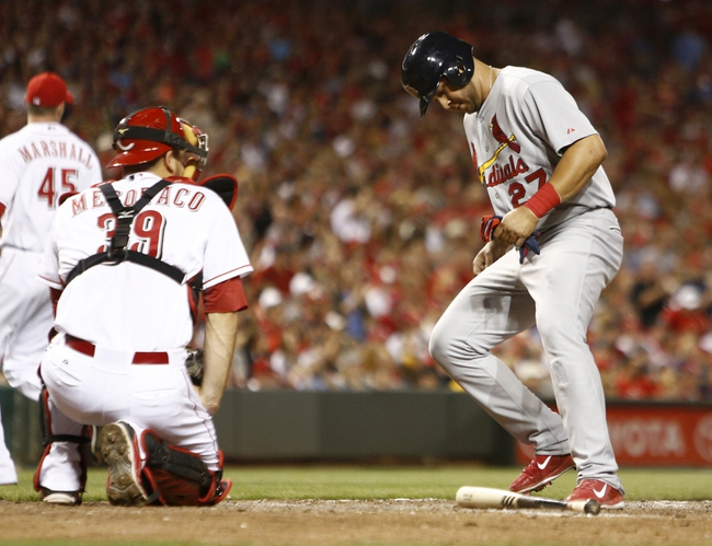 Cincinnati Reds vs. St. Louis Cardinals MLB Pick, Odds, Prediction 5/25/14