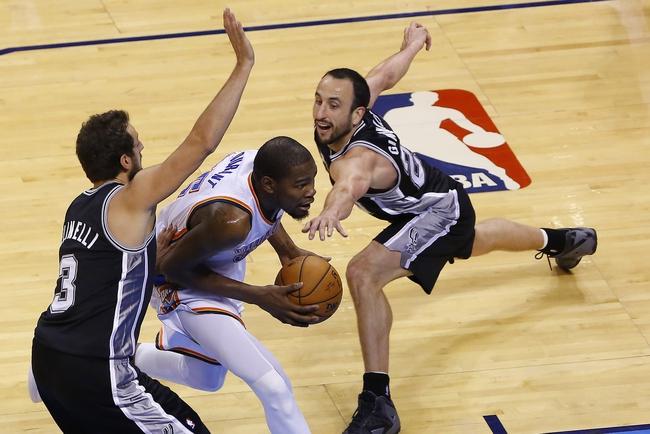 Oklahoma City Thunder vs. San Antonio Spurs - 5/27/14 Game 4