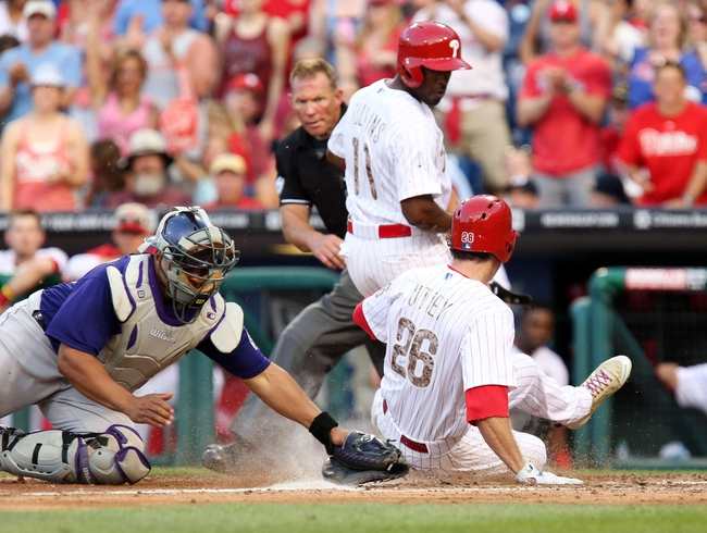 Philadelphia Phillies vs. Colorado Rockies MLB Pick, Odds, Prediction - 5/28/14