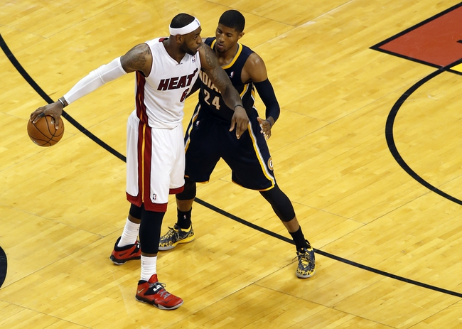 Miami Heat at Indiana Pacers NBA Pick, Odds, Prediction - 5/28/14 Game Five